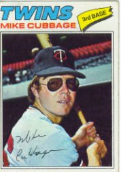 1977 Topps Baseball Cards      149     Mike Cubbage