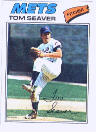 1977 Topps Baseball Cards      150     Tom Seaver