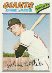 1977 Topps Baseball Cards      151     Johnny LeMaster