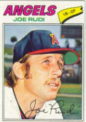 1977 Topps Baseball Cards      155     Joe Rudi