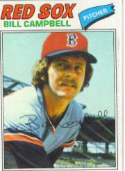 1977 Topps Baseball Cards      166     Bill Campbell