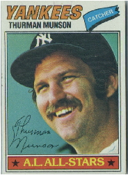 1977 Topps Baseball Cards      170     Thurman Munson