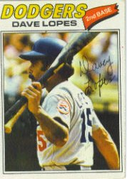 1977 Topps Baseball Cards      180     Dave Lopes