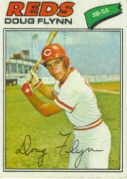 1977 Topps Baseball Cards      186     Doug Flynn