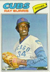 1977 Topps Baseball Cards      190     Ray Burris