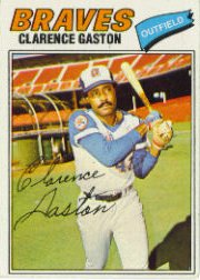 1977 Topps Baseball Cards      192     Clarence Gaston