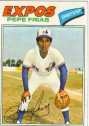 1977 Topps Baseball Cards      199     Pepe Frias