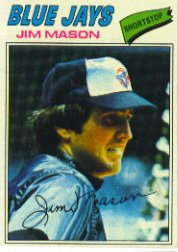 1977 Topps Baseball Cards      212     Jim Mason