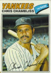 1977 Topps Baseball Cards      220     Chris Chambliss