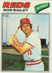 1977 Topps Baseball Cards      221     Bob Bailey