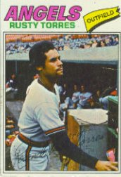 1977 Topps Baseball Cards      224     Rusty Torres