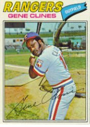 1977 Topps Baseball Cards      237     Gene Clines