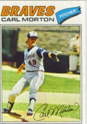 1977 Topps Baseball Cards      024      Carl Morton