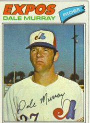 1977 Topps Baseball Cards      252     Dale Murray