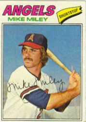 1977 Topps Baseball Cards      257     Mike Miley