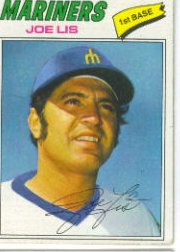 1977 Topps Baseball Cards      269     Joe Lis