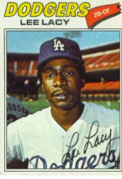 1977 Topps Baseball Cards      272     Lee Lacy