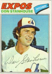 1977 Topps Baseball Cards      274     Don Stanhouse