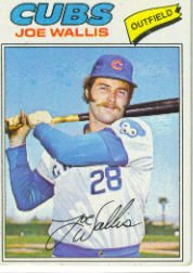 1977 Topps Baseball Cards      279     Joe Wallis