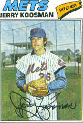 1977 Topps Baseball Cards      300     Jerry Koosman