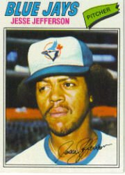1977 Topps Baseball Cards      326     Jesse Jefferson