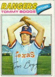1977 Topps Baseball Cards      328     Tommy Boggs RC