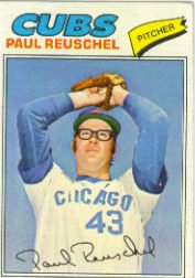 1977 Topps Baseball Cards      333     Paul Reuschel RC