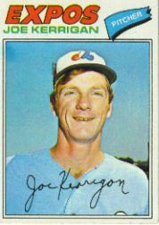 1977 Topps Baseball Cards      341     Joe Kerrigan RC