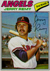 1977 Topps Baseball Cards      342     Jerry Remy