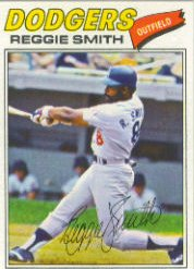 1977 Topps Baseball Cards      345     Reggie Smith