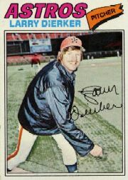 1977 Topps Baseball Cards      350     Larry Dierker
