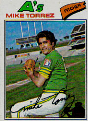 1977 Topps Baseball Cards      365     Mike Torrez