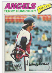 1977 Topps Baseball Cards      369     Terry Humphrey
