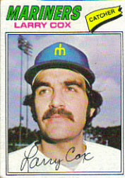 1977 Topps Baseball Cards      379     Larry Cox RC