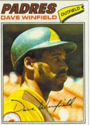 1977 Topps Baseball Cards      390     Dave Winfield