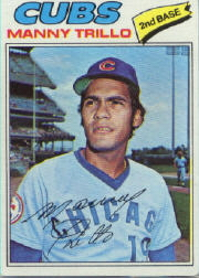 1977 Topps Baseball Cards      395     Manny Trillo