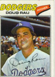 1977 Topps Baseball Cards      421     Doug Rau