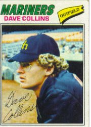 1977 Topps Baseball Cards      431     Dave Collins UER