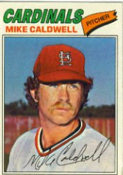 1977 Topps Baseball Cards      452     Mike Caldwell