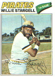 1977 Topps Baseball Cards      460     Willie Stargell