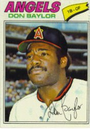 1977 Topps Baseball Cards      462     Don Baylor