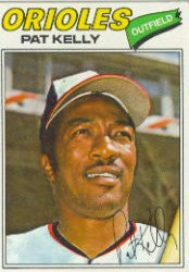 1977 Topps Baseball Cards      469     Pat Kelly