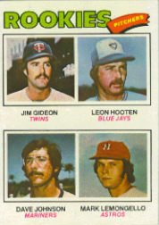 1977 Topps Baseball Cards      478     Jim Gideon/Leon Hooten/Dave Johnson/Dave Lemongello RC