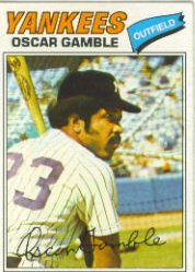1977 Topps Baseball Cards      505     Oscar Gamble