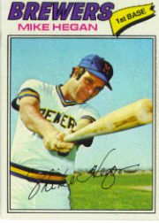 1977 Topps Baseball Cards      507     Mike Hegan