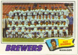 1977 Topps Baseball Cards      051      Milwaukee Brewers CL/Grammas