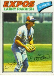 1977 Topps Baseball Cards      526     Larry Parrish