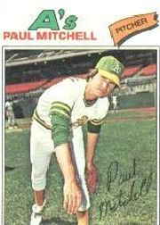 1977 Topps Baseball Cards      053      Paul Mitchell