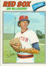 1977 Topps Baseball Cards      532     Jim Willoughby