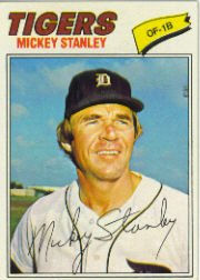 1977 Topps Baseball Cards      533     Mickey Stanley